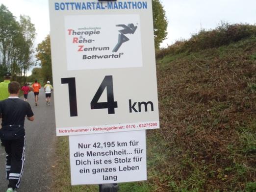 Bottwartal Marathon 2012 Trail Bergmarathon Laufkultur Laufberichte